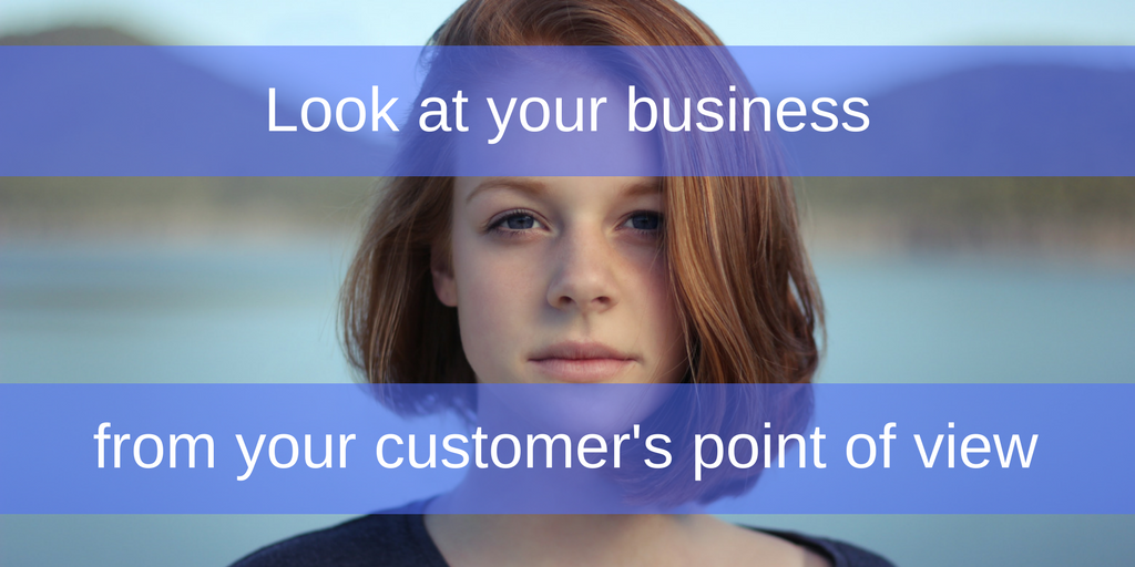 Look at your business