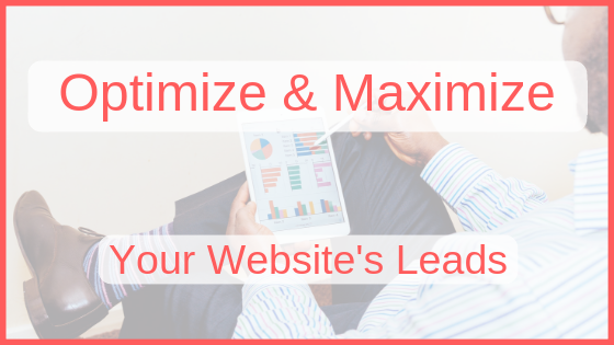 Optimize & Maximize Your Website's Leads