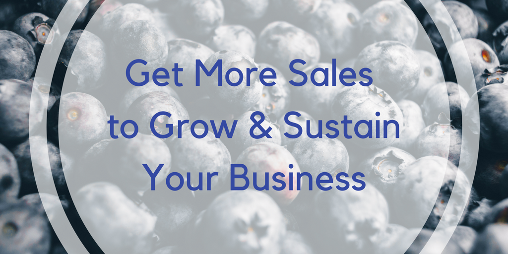 Get more sales to grow and sustain your small business
