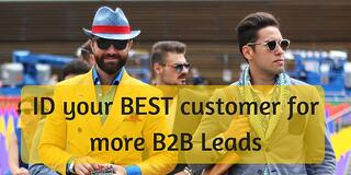 ID your best customers for more B2B leads online