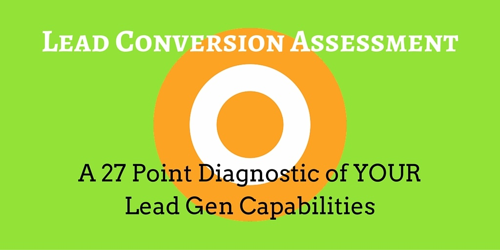 Lead Conversion Assessment
