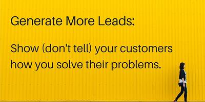 Get more leads online by being different